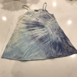 Hard Tail tie dyed tank size small